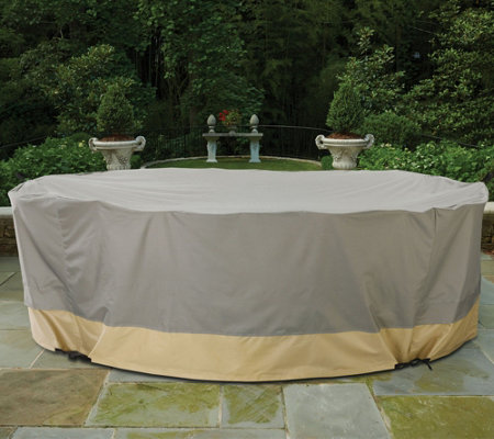 Patio Armor Ultra Mega Furniture Cover With Rip Stop Fabric