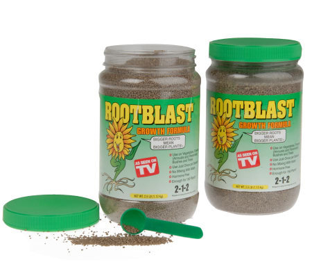 Rootblast Once-A-Season Growth Formula 2 2-1/2 lb Jars
