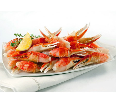 Anderson Seafoods 4lbs Cracked Snow Crab Claws