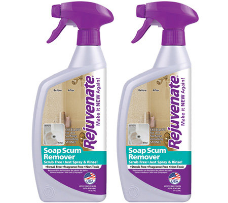 Rejuvenate Set of 2 32-oz Soap Scum Removers
