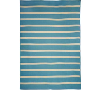 Tommy Bahama Indoor/Outdoor 7x10 Awning Stripe Rug - M48180