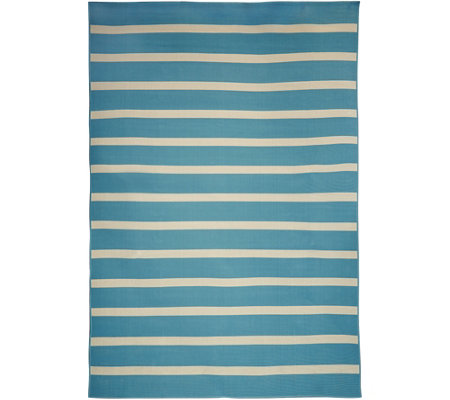 Tommy Bahama Indoor/Outdoor 7x10 Awning Stripe Rug