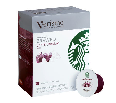 Starbucks Verismo Verona Coffee Pods - 72-pc