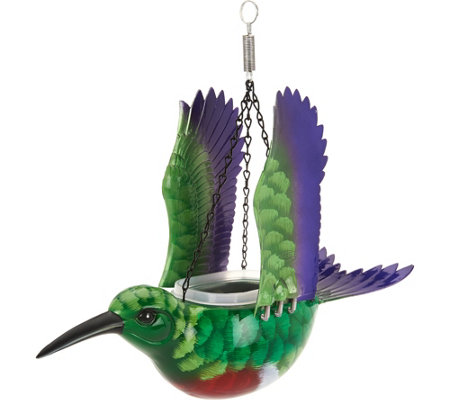WindyWings Hanging Bird Feeder and Planter