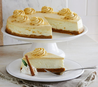 Ships 12/5 Junior's 5 lb. Pumpkin Pie Cheesecake Auto-Delivery - M52481