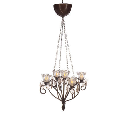 anywhere kami decorative chandelier by exhart - Decorative Chandelier