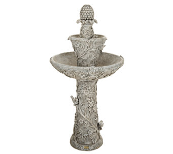 Bernini Rechargeable Collector's Edt Flora Fountain with LED Light - M43382