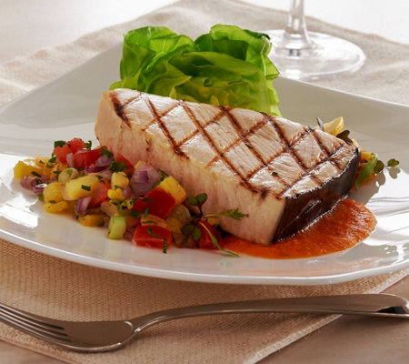 Anderson Seafood (8) 6 oz. Swordfish Steak Auto-Delivery