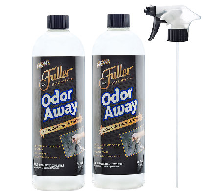 Fuller Brushn Set of 2 Odor Away with Sprayer