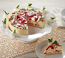 Junior's 3 lb. Christmas Swirl Cheesecake - M51483