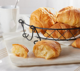 Ships 12/12 Authentic Gourmet (25) French Butter Croissants - M53683