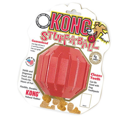 Kong Stuff A Ball Red Dog Toy