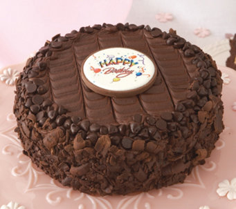 "Junior's 7"" Happy Birthday Devil's Food Cheesecake - M115584"