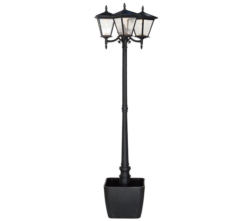 Energizer Solar 3-Head Lamp Post w/ Detachable Planter - Page 1 ...