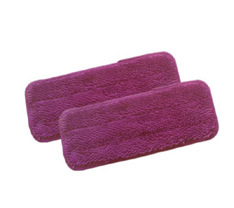 "Don Aslett's Microfiber Scrubbing Pads for 12""Mop - M114585"