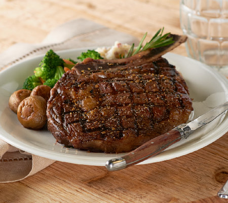 Kansas City Steak Company (4) 16oz. Bone In Ribeye Steak Auto-Delivery