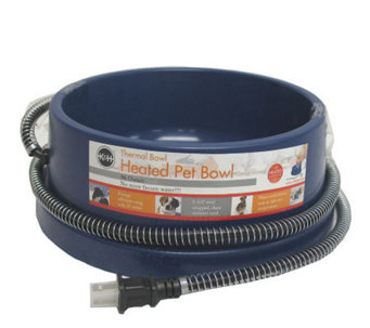 Thermal Heated Dog Bowl - M109286