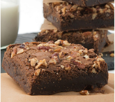 David's Cookies 18-Pack Pecan Brownies