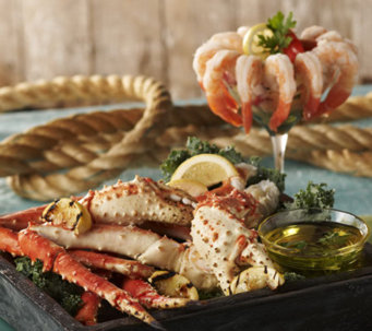 Lobster Gram 3 lb. King Crab Legs and 2 lb. Jumbo Shrimp - M42386