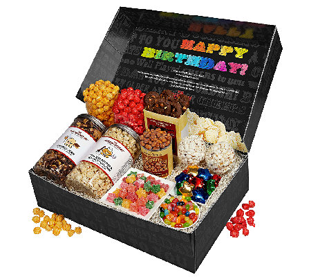 The Popcorn Factory Say it in Color - BirthdaySnacker's Box