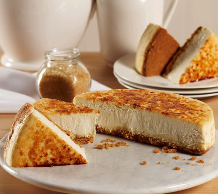 Junior's Creme Brulee Cheesecake