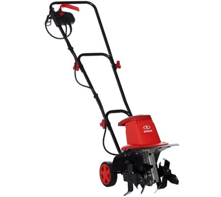 "Sun Joe 12"" Electric Garden Tiller and Cultivator w/ 8-Amp Motor"