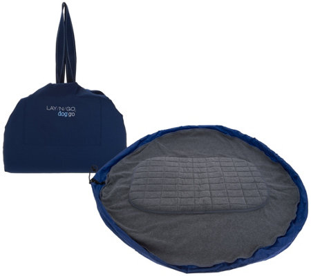 "Lay/N/Go 44"" Pet Bed and Travel Bag"