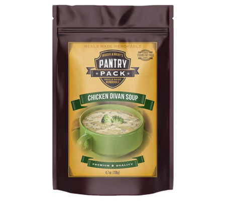 Maggie & Mary's 4-Count Pantry Pack Chicken Divan Soup Mix
