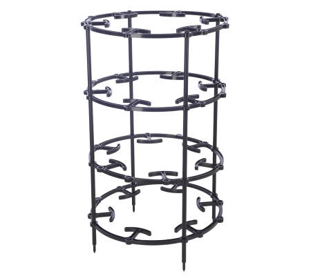 The Garden Tower Multi Use Plant Support System product M25088 on qvc lori goldstein