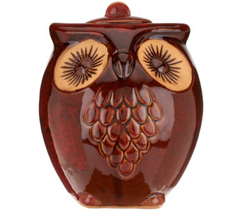 Indoor/Outdoor Owl's a Hoot Firepot with Organica Fuel & Media Roll - M42788