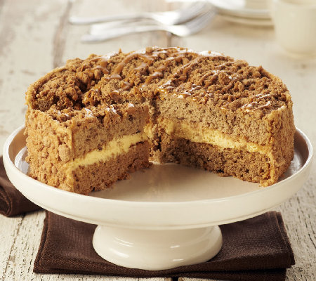 Banana caramel crunch cake recipe