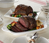 Rastelli (2) 4-4.5 lb. Black Angus Marinated Prime Rib Roasts - M53488