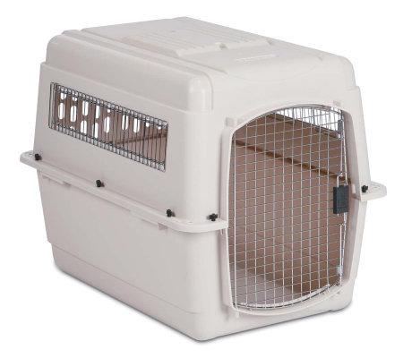 Petmate ultra vari kennel traditional large qvccom for Petmate large dog kennel