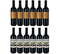 Vintage Wine Estates Best of California 12 Bottle Wine Set - M54789