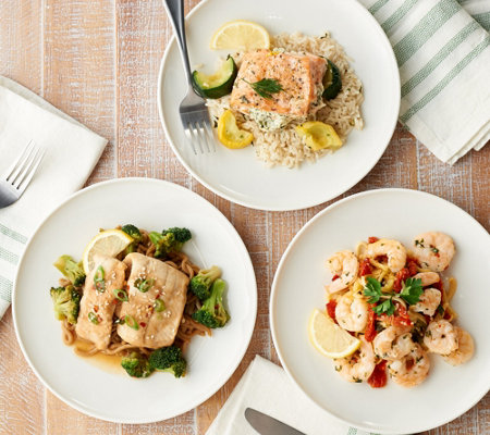 Real for Real Cuisine by Shannon Beador 9 Seafood Meals Auto-Delivery