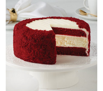 "Junior's 7"" Red Velvet Cheesecake - M115590"