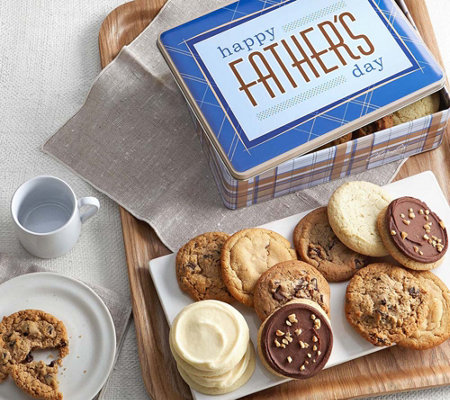 Cheryl's Father's Day 16 Assorted Cookies GiftTin