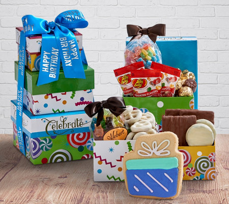 Hebert Candies Happy Birthday Basket