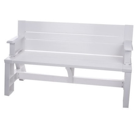 Convert-A-Bench 2-in-1 Outdoor Bench-to-Table