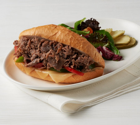 Bella Brand (16) 5 oz. Philly Sandwich Steaks Auto-Delivery
