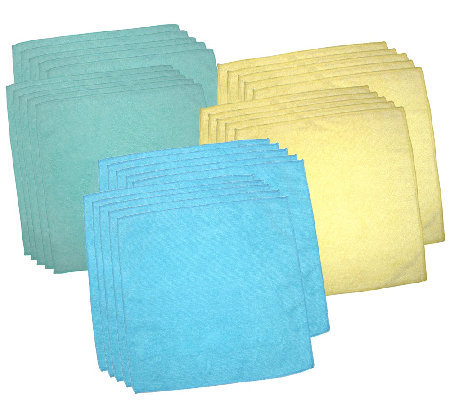 Don Aslett's 30-Piece Microfiber Towel Set