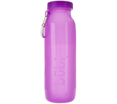 Scrunchable Multi-Use Silicone Water Bottle