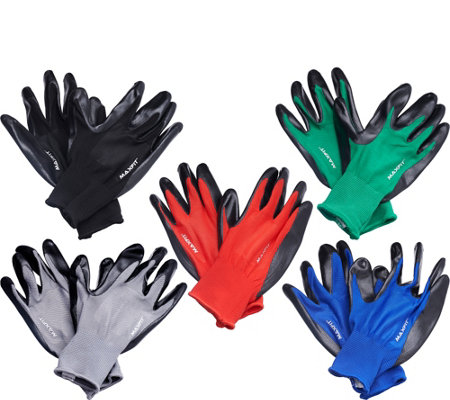 5 Pair All-Purpose Utility Glove by Maxfit