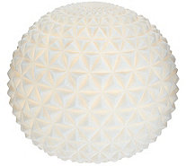 "Barbara King Indoor/Outdoor 9"" Illuminated Sandstone Sphere - M54891"