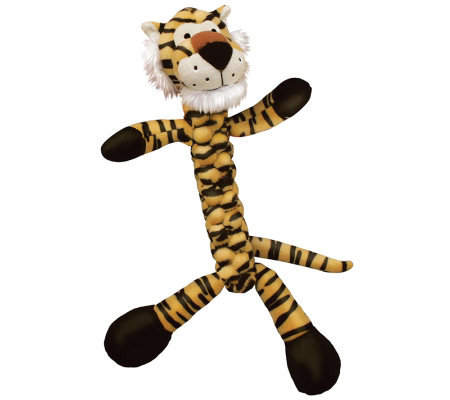 Braidz Tiger Large Dog Toy