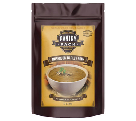 Maggie & Mary's 4-Count Pantry Pack Mushroom Barley Soup Mix