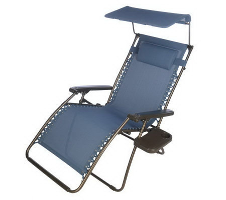Bliss Hammock Xl Gravity Free Recliner With Canopy Amp Cup