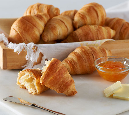 Authentic Gourmet (36) Imported French Classic Butter Croissants