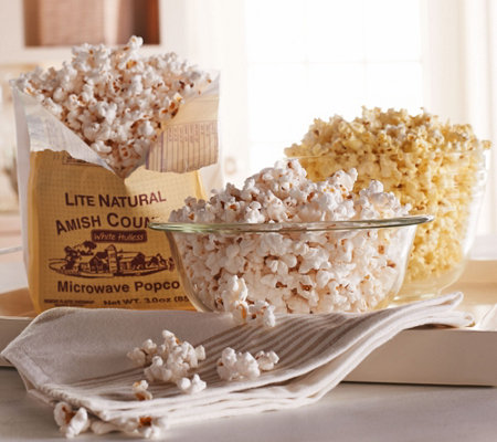Amish Country 21-bag Virtually Hulless Mini Popcorn Asst.