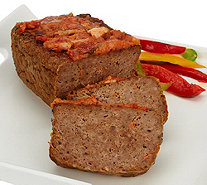 Mama Mancini's (4) 1 lb. Bacon Parmesan Meatloaf with Sauce - M55192